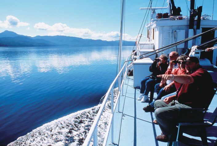 Enjoy beautful scenery aboard the MV Parry on our Eco Tours